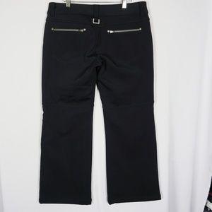 520cf767caeb1 Athleta Pants - Athleta Black Calaveras Soft Shell Ski Snow Pants